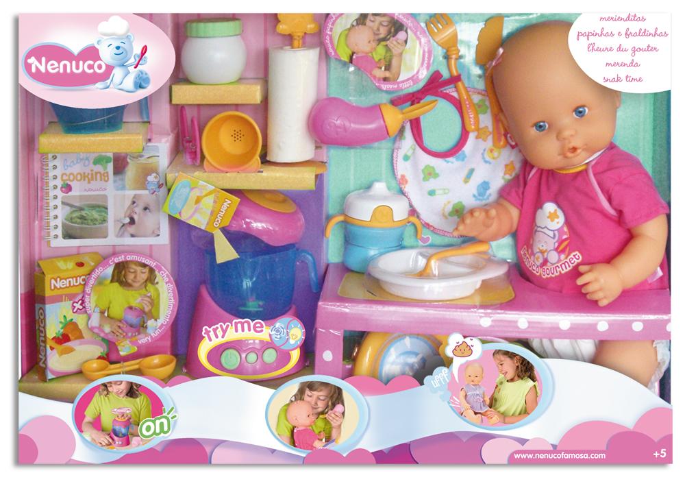 Comprar nenuco merienditas hace pop famosa 7776 juguetes juguetodo - Cocina de nenuco ...