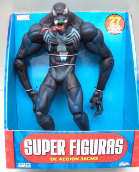 Famosa : SpiderMan : Super Figuras : Venom 30 cm ...