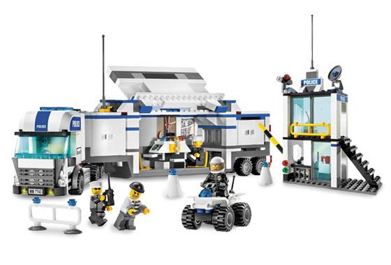 Comprar cami n de polic a lego 7743 juguetes juguetodo - Camion de police lego city ...