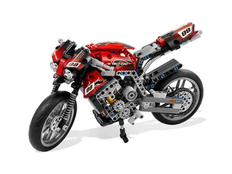 moto de carretera lego 8051 juguetes juguetodo. Black Bedroom Furniture Sets. Home Design Ideas