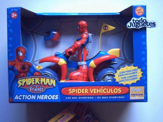 Marvel spiderman quad marvel 168c juguetes juguetodo - Quad spiderman ...