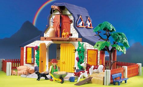 Playmobil casa de campo jugueter a juguetes juguetodo for La granja de playmobil precio