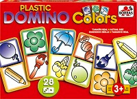 Plastic Domino Colors