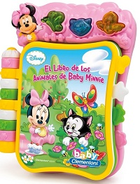 Libro Musical Baby Minnie