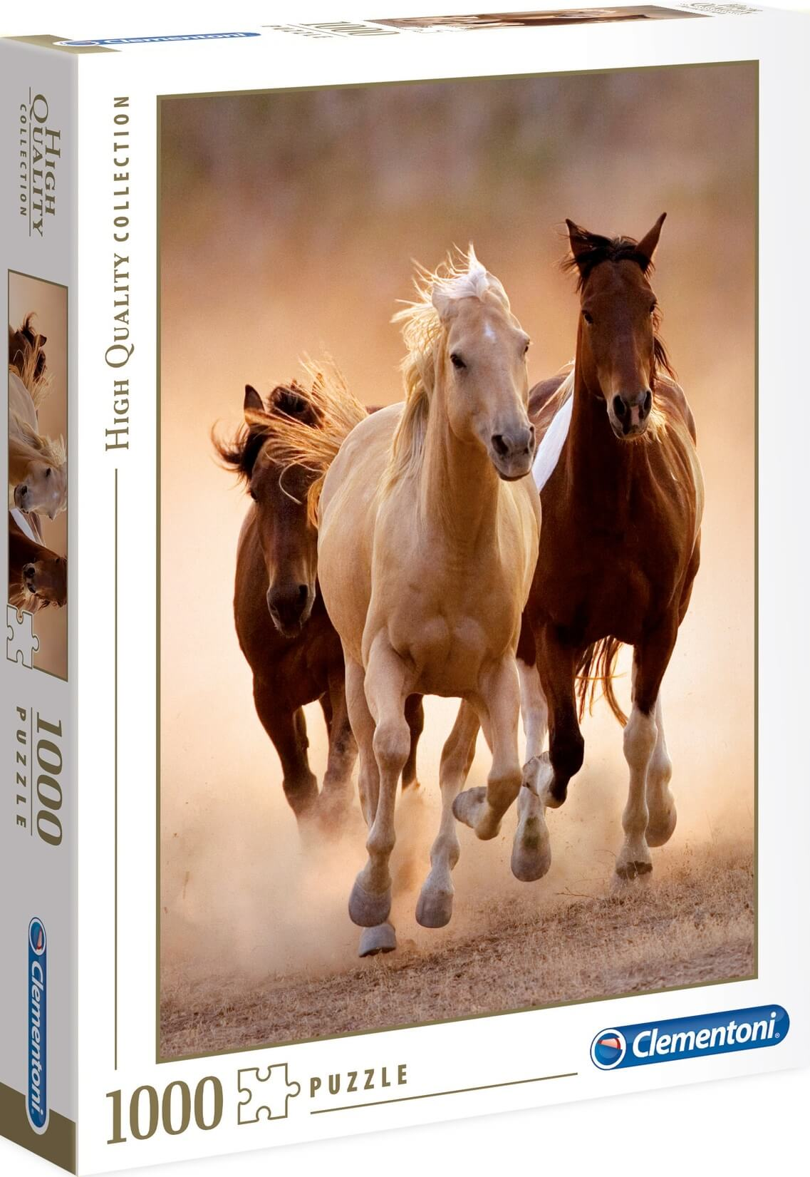 1000 Running Horses HIGH QUALITY