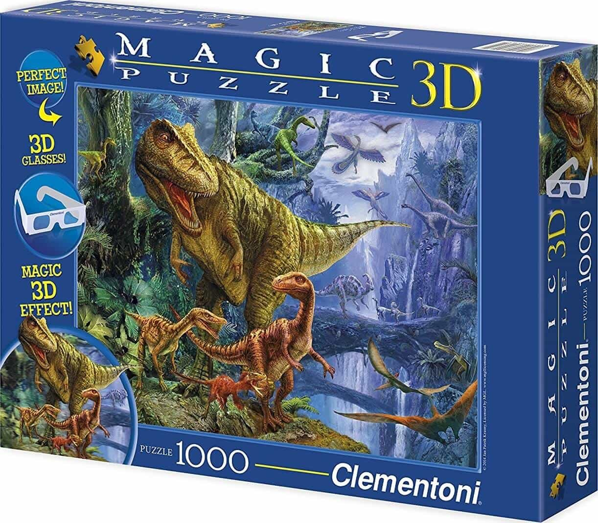 1000 Dinosaurios MAGIC 3D