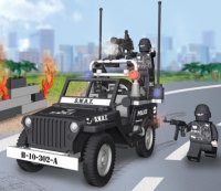 Jeep Willys MB Police Swat
