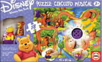 Winnie the Pooh Puzzle Circuito Musical