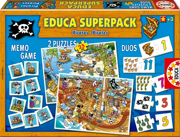 Superpack Piratas
