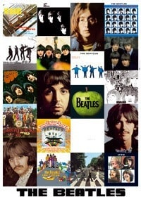 1000 Collage The Beatles