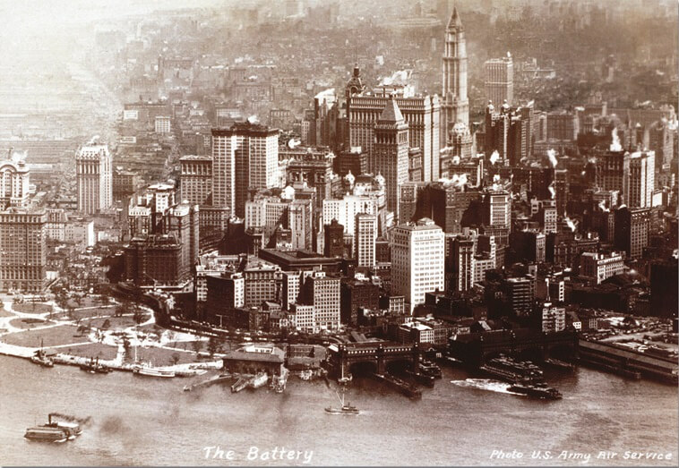 500 New York Skyline, 1920