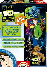 400 Gigante Ben 10 Alien Force