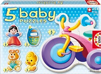 5 Baby Puzzles Juguetes