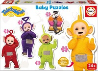 Puzzle progresivo Teletubbies