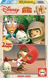Puzzle Madera 2x16 Chicken Little