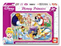 200 Princesas Disney con sus príncipes