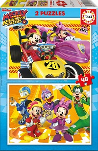 2x48 Mickey and The Roadster Racers