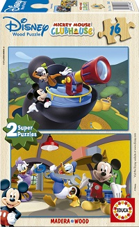 2x16 Club Mickey Mouse.