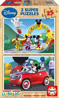 2x25 Mickey Mouse. Club House