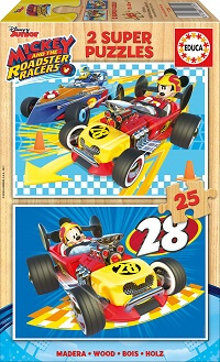 2x25 Mickey and The Roadster Racers