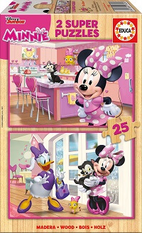 2x25 Minnie Happy Helpers