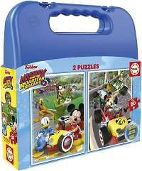 Maleta 2x20 Mickey and The Roadster Racers