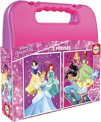 Maleta 2x48 Disney Princess
