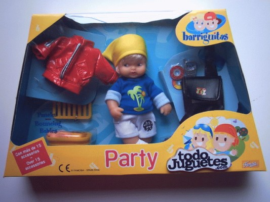 Party Barriguitas Party Niño