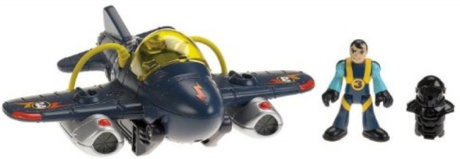 Héroes dell Aire Twister Jet ( FisherPrice T5310 ) imagen a