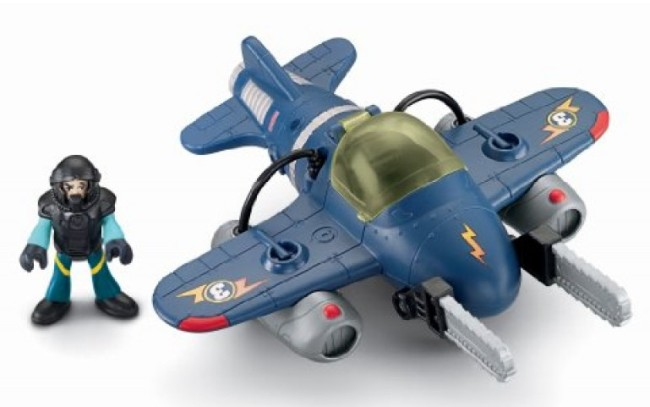 Héroes dell Aire Twister Jet ( FisherPrice T5310 ) imagen b