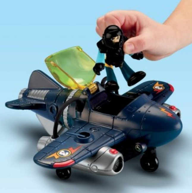 Héroes dell Aire Twister Jet ( FisherPrice T5310 ) imagen c