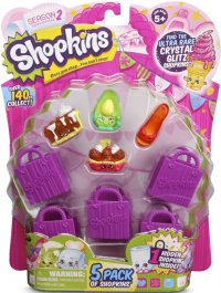 Shopkins Blister de 5 -Seasons 2