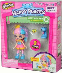 Lil Shoppie Pack Kitty Kitchen Rainbow Kate