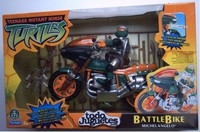 Ninja Battle Bike Michelangelo