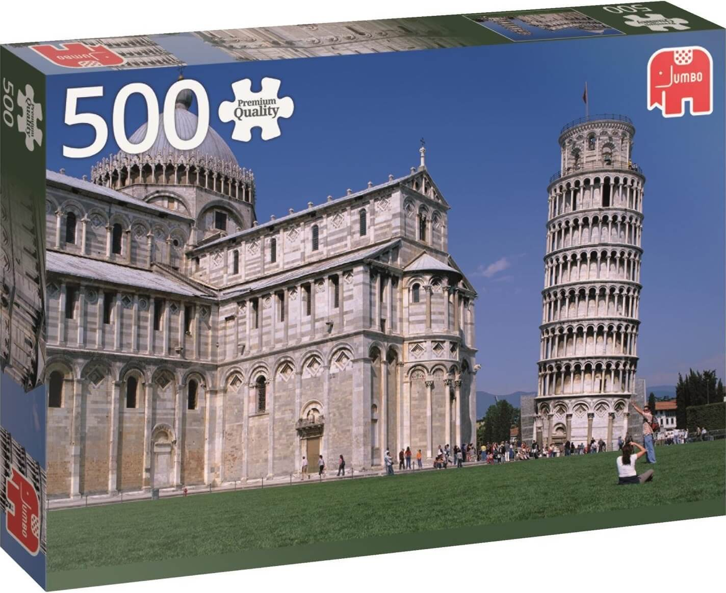 500 Tower of Pisa