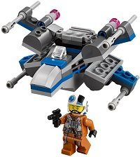 Resistance X-Wing Fighter Microfighter