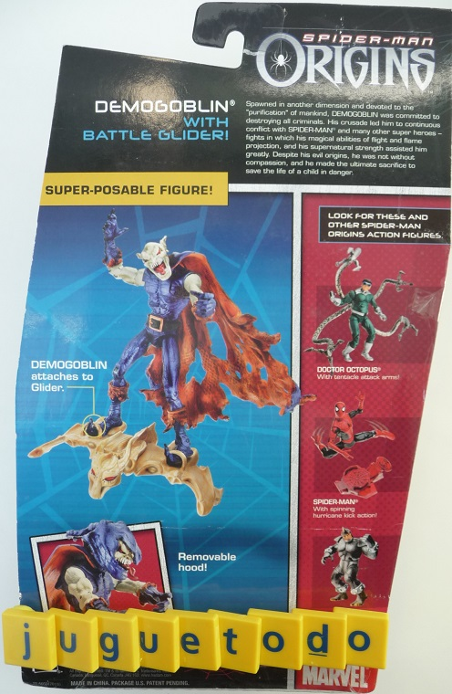 DemoGoblin with Battle Glider ( Marvel 79219 ) imagen b
