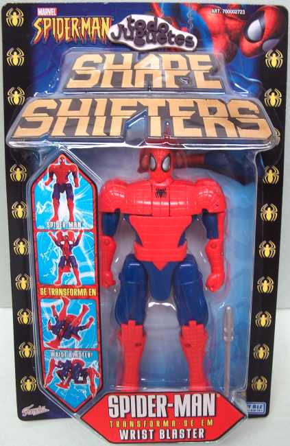 SpiderMan transformable en Wrist Blaster