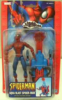Aqua Blast Spiderman