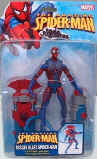 Rocket Blast Spiderman