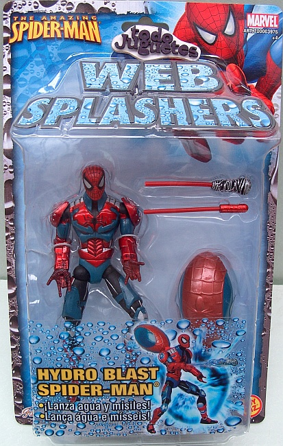 Web Splasher Spiderman Hydro Blast