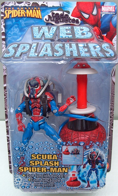 Web Splasher Spideman Scuba Splash