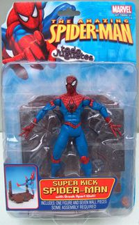 SpiderMan Super Kick