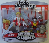 superHero Squad Angel and Colossus