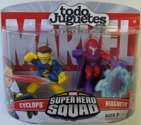 superHero Squad Cyclops and Magneto