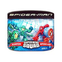 SuperHero Squad Spiderman and Scorpion