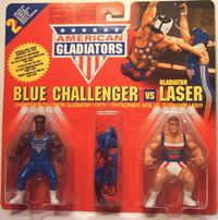 Blue Challenger vs Gladiator Laser