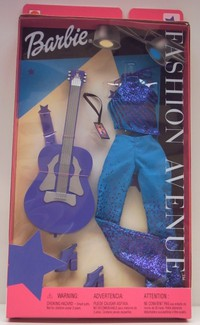 Barbie Fashion Avenue Rock Star Purple