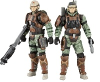 Halo Reach. Serie 3. USNC Radio Trooper and Medic Trooper