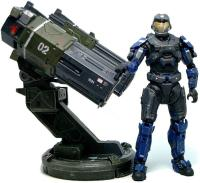 Halo Reach. Rocket Launcher with Spartan JFO custom